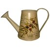 House Additions Olive Watering Can Flower Pot