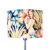 House Additions 30cm Tropical Drum Lamp Shade