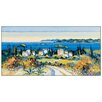 House Additions 'En Chemin' by Keiflin Art Print Plaque