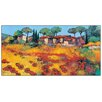 House Additions 'Rouge ET or' by Keiflin  Art Print Plaque