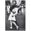 House Additions Kissing on VJ Day Graphic Art Plaque