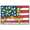 House Additions 'American Musical Festival' by Haring Graphic Art Plaque