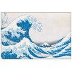 House Additions 'The Great Wave of Kanagawa' by Hokusai Graphic Art Plaque