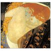 "House Additions Schild ""Danae"" von Klimt, Kunstdruck"