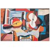 House Additions 'Mandolino e Chitarra, 1924' by Picasso  Graphic Art Plaque