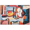 "House Additions Schild ""Mandolino e Chitarra, 1924"" von Picasso, Grafikdruck"