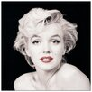 House Additions Marilyn Monroe (Red Lips)  Photographic Print Plaque