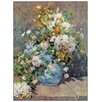 "House Additions Schild ""Spring Flowers"" von Renoir, Kunstdruck"