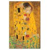 "House Additions Schild ""Bacio"" von Klimt, Kunstdruck"