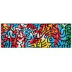 House Additions 'Untitled 1990' by Haring Graphic Art Plaque