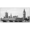House Additions Houses of Parlament and Big Ben in London  Photographic Print Plaque