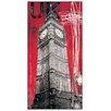 """House Additions Schild """"One British Time"""" von Taylor, Grafikdruck"""