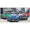 """House Additions Schild """"Classic American Cars in Havana"""" von Massa, Kunstdruck"""