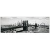 House Additions The Brooklyn Bridge, NYC, 1938  Photographic Print Plaque