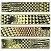 """House Additions 4-tlg. Schild-Set """"Metamorphosis ll, 1940"""" von Escher, Grafikdruck"""