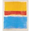 "House Additions ""Untitled 1953"" by Rothko Art Print Plaque"