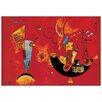 "House Additions Wandbild ""Con E Contro"" von Kandinsky, Kunstdruck"