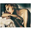 "House Additions Schild ""La Dormeuse"" von De Lempicka, Kunstdruck"