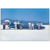 "House Additions Schild ""Bluebird at Bonneville"" von Vettriano, Kunstdruck"