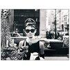 House Additions Schild Audrey Hepburn, Fotodruck