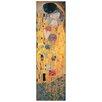 """House Additions Schild """"The Kiss"""" von Klimt, Kunstdruck"""