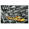 House Additions 'Cabs Queue' by Michael Feldmann Graphic Art Plaque