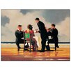 """House Additions Wandbild """"Elegy for a Dead Admiral"""" von Jack Vettriano, Kunstdruck"""