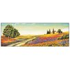 House Additions 'Morning in the Valley' by Leblanc Art Print Plaque