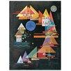 """House Additions Schild """"Picchi in Arco"""" von Kandinsky, Kunstdruck"""