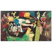 "House Additions Schild ""Night fishing at Antibes"" von Picasso, Kunstdruck"