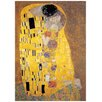 "House Additions Schild ""Il Bacio"" von Klimt, Kunstdruck"
