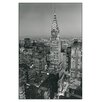 House Additions 'Chrysler Building' by Henri Silberman Photographic Print Plaque