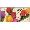 "House Additions ""Tulips"" by Massa Art Print Plaque"