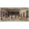 "House Additions ""The Last Supper Today"" by Da Vinci Art Print Plaque"