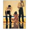 """House Additions Schild """"Narcissistic Bathers"""" von Vettriano, Kunstdruck"""