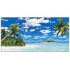 "House Additions ""Isola Tropicale"" by Amstici Graphic Art Plaque"