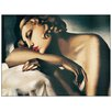 "House Additions ""La Dormeuse, 1931-32"" by De Lempicka Art Print Plaque"