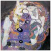 House Additions 'Le Vergini Detail' by Klimt Art Print Plaque