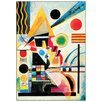 House Additions 'Ondeggiamento, 1925' by Kandinsky Art Print Plaque