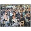 House Additions 'Au Mulin De LA Galette' by Renoir Art Print Plaque