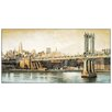 "House Additions ""Manhattan Bridge Way"" by Daniels Art Print Plaque"