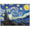 "House Additions Schild ""Starry Night"" von Van Gogh, Kunstdruck"