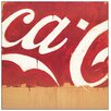 "House Additions ""Coca Cola"" by Schifano Art Print Plaque"
