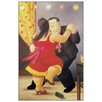 "House Additions Schild ""Dancers"" von Botero, Kunstdruck"