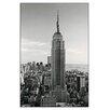 """House Additions Schild """"Empire State Building"""" von Silberman, Fotodruck"""