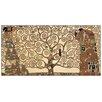 """House Additions Schild """"The Tree of Life"""" von Klimt, Kunstdruck"""