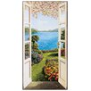 "House Additions ""Giardino Fiorito"" by Del Missier Art Print Plaque"
