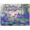 "House Additions Schild ""Seerosen"" von Monet, Kunstdruck"