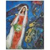 "House Additions Schild ""La Mariee, 1950"" von Chagall, Kunstdruck"