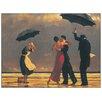 """House Additions Wandbild """"The Singing Butler'"""" von Vettriano, Kunstdruck"""